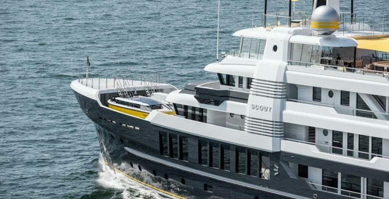 Scout, built by Hakvoort, is a rugged superyacht set to take on the world
