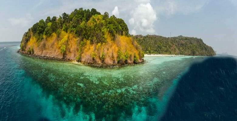 the Andaman Islands are gaining a 50-slip marina for yachts and superyachts