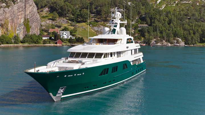 the superyacht Sea Owl is for sale for the first time