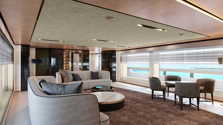 Baglietto hull 10233 is a megayacht seeing delivery in 2021