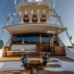 some of the fishing features aboard Hull 60 by Jarrett Bay Boatworks