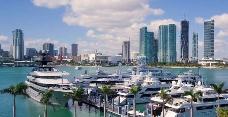 Yacht Haven Grande Island Gardens Marina is the new name for the superyacht marina on Miami's Watson Island