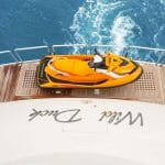 the megayacht Wild Duck is a Horizon RP110 for a repeat customer