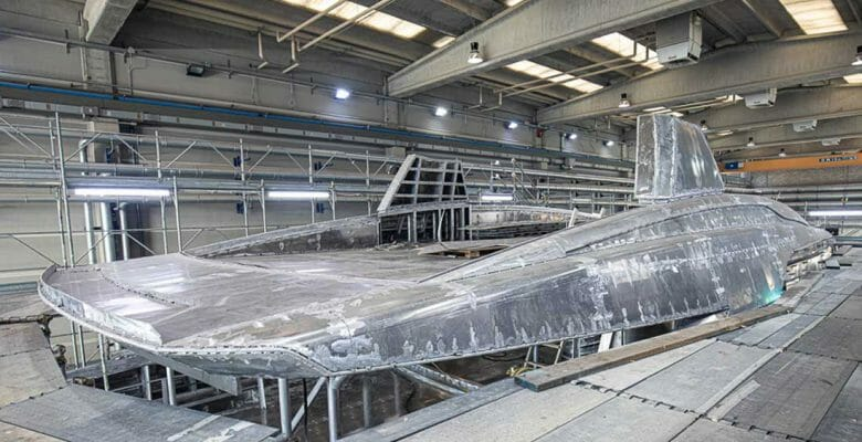 the Tankoa 50-meter series hull 4 megayacht will be ready in late 2021