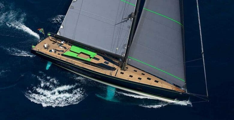 Morgana is a sailing superyacht by Southern Wind Shipyard