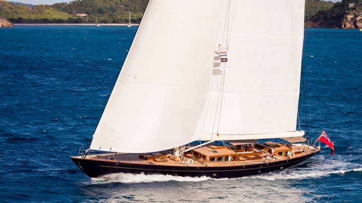Pumula is among the superyachts competing in the New Zealand Millennium Cup in 2021