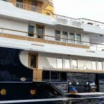 Blue II is a retro-styled megayacht from Turquoise Yachts