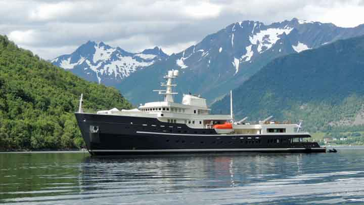 Diana Yacht Design was involved in the refit of the megayacht Legend