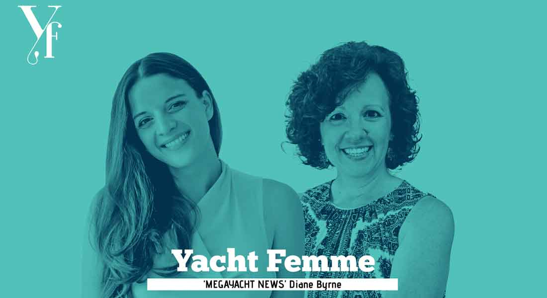 Yacht Femme is a podcast about women in yachting and the superyacht business