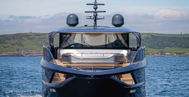 2021 Palm Beach show megayacht displays include the Princess X95