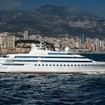 a look inside Lady Moura shows seven decks of luxurious megayacht spaces