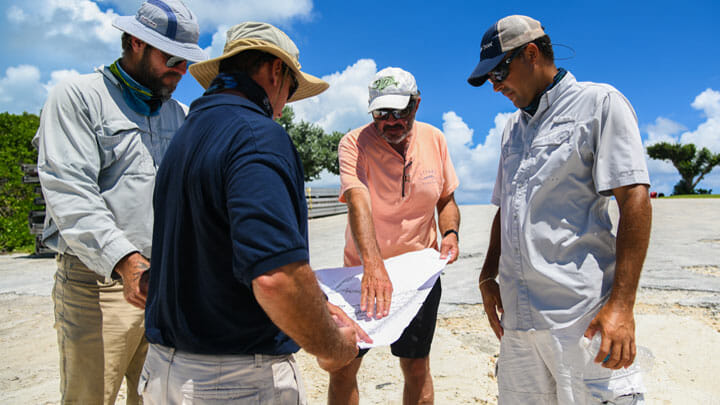 Carl Allen has a rebirth vision for Walker's Cay to attract yachts and megayachts