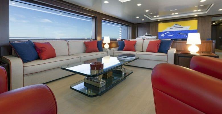 the CdM megayacht Crowbridge is for a close-knit family