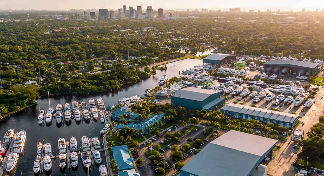 Lauderdale Marine Center is the latest megayacht marina acquired by Safe Harbor Marinas