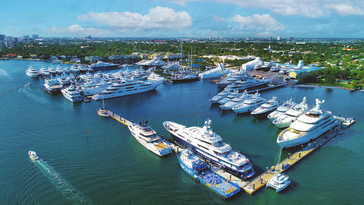 Baxter Underwood, the CEO of Safe Harbor Marinas, says Rybovich offers strengths different from yet complementary to its other superyacht properties