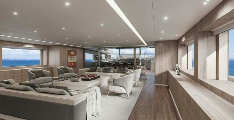 Scott Gillen is designing his first-ever superyacht, a Rossinavi project