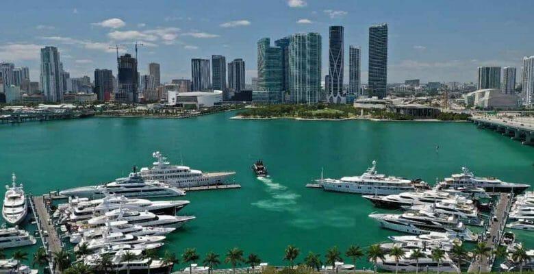 Yacht Haven Grande Miami megayacht marina