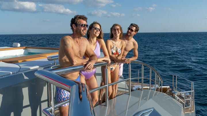 buying your first superyacht involves considering how many people you want to sleep aboard