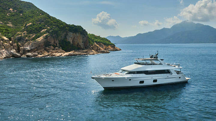 Jozeph Forakis and CL Yachts created the CLB88 megayacht