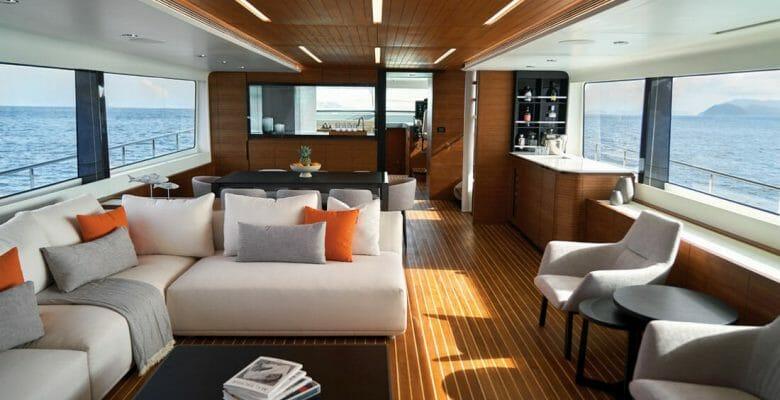 CL Yachts' CLB88 features design by megayacht specialist Jozeph Forakis