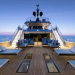 the amazing spaces aboard Aurelia include this superyacht include a casually elegant interior and expansive exterior