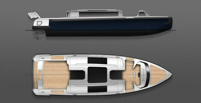 Falcon Tenders' First Limo Tender From Michael Leach Design suits 100-meter-plus megayachts