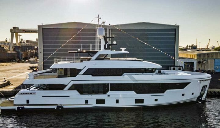 Rosetti Superyachts' first launch is the RSY 38m EXP; put her on your Cannes Yachting Festival visit list