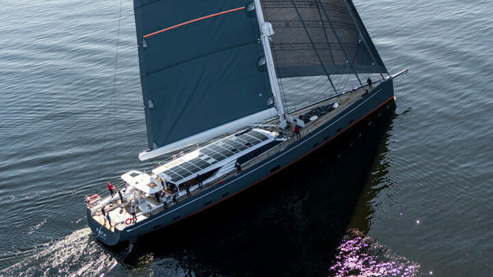 the Baltic 146 Path sailing superyacht will be at the Monaco show in September 2021