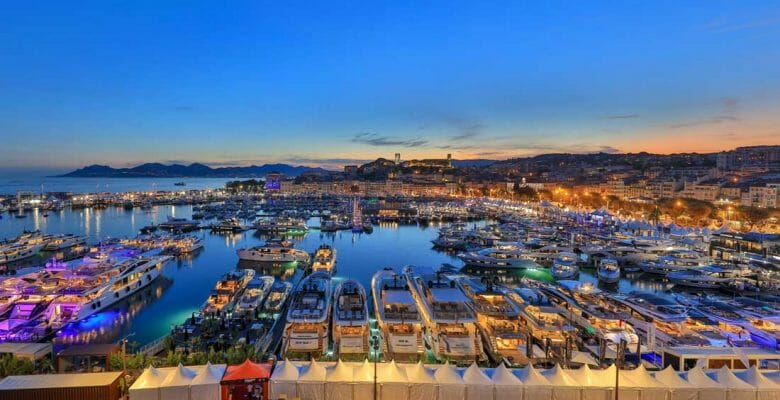 your Cannes Yachting Festival visit list can include multiple superyachts