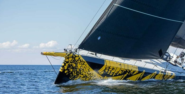 the ClubSwan 125 Skorpios is set to smash superyacht racing records