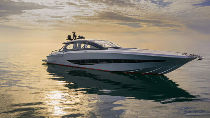 your Cannes Yachting Festival visit list should include the ISA GTO 100 megayacht