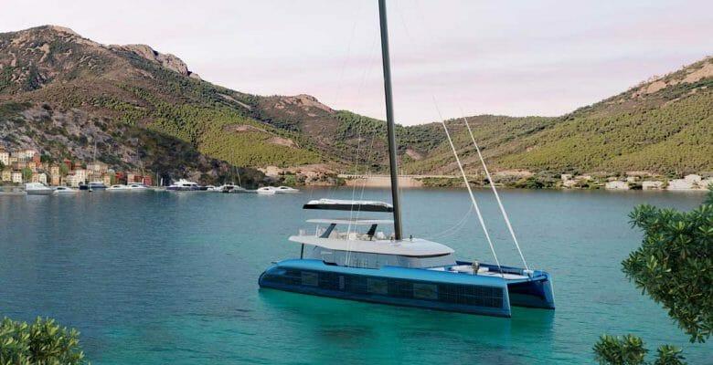 the Sunreef 100 Eco sailing superyacht