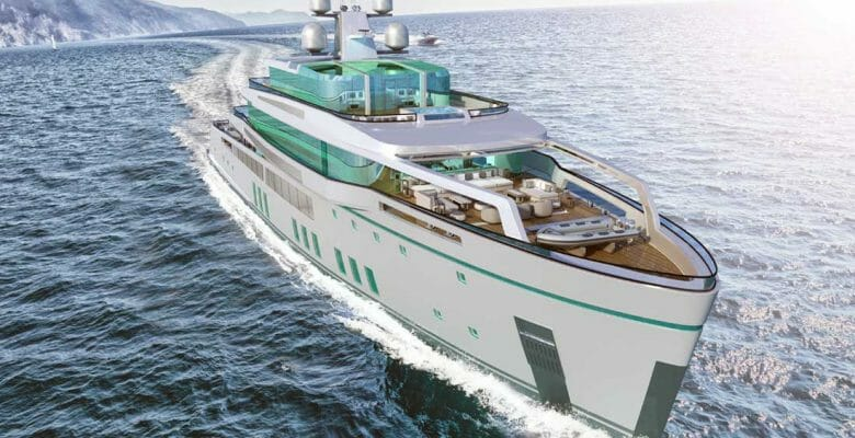 the See superyacht concept comes from Gill Schmid Design and Lateral Naval Architects