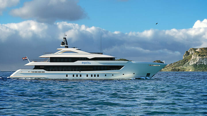Project Apollo, a megayacht by Heesen Yachts
