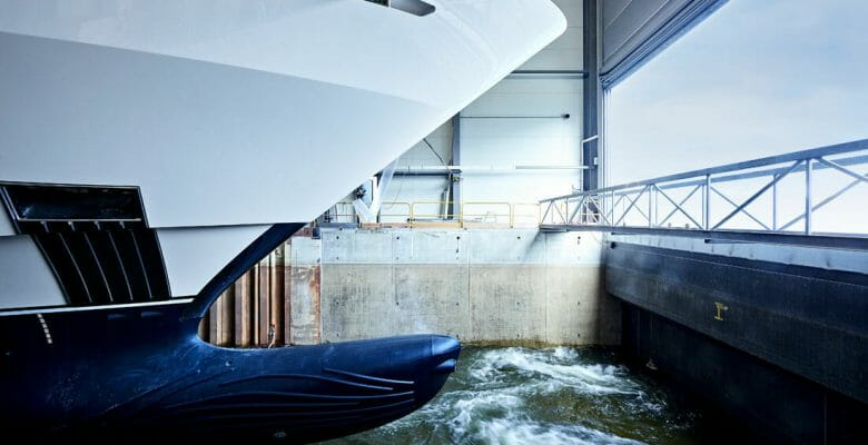 Heesen's Project Falcon is the shipyard's most voluminous megayacht to date
