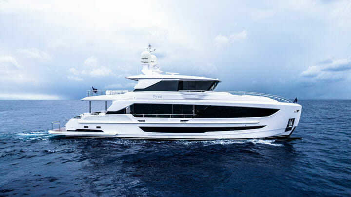 Tyee is the 20th Horizon FD Series megayacht