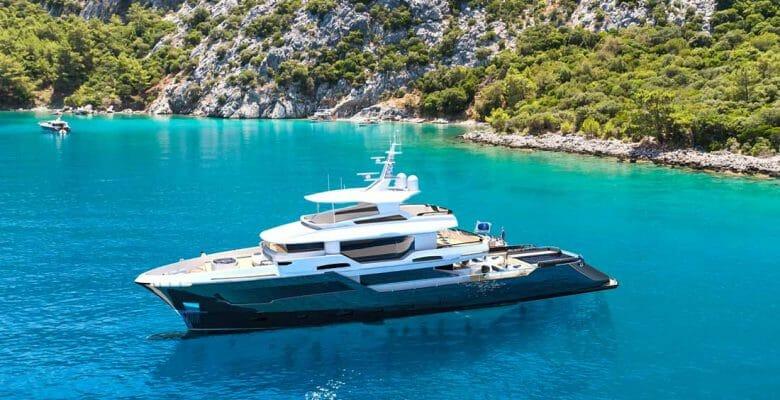 the Kando 130XL joins the long-range megayacht lineup of AvA Yachts
