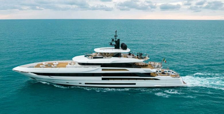 Project Verona is the code name for the second Mangusta Oceano 50 superyacht