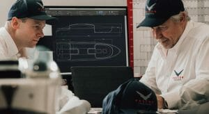 Mark Pascoe and Dean Stoneman run the superyacht tender company Falcon Tenders