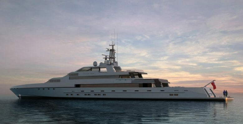 Silver Edge is the latest Silver Yachts megayacht concept