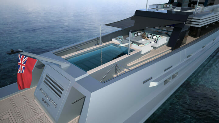 Silver Edge is a new superyacht concept from Silver Yachts