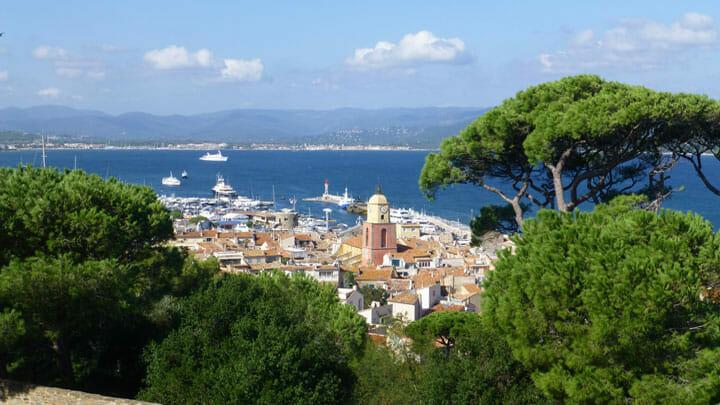 superyacht golfing holidays often include St. Tropez