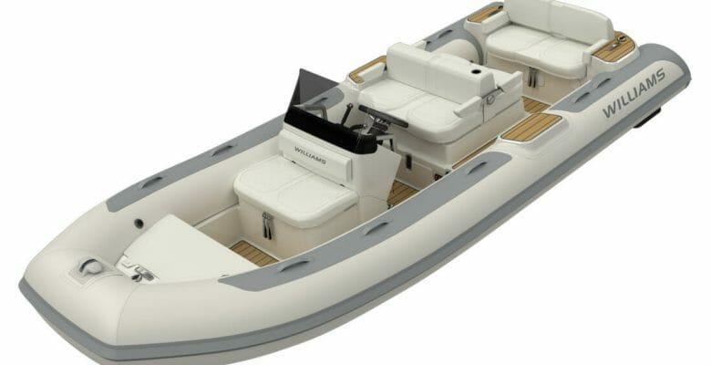 Williams Jet Tenders has redesigned the superyacht RIB DieselJet 505