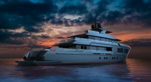 the CdM EXP 42 megayacht signed at the Cannes Yachting Festival