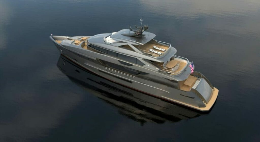 the owner of the Hargrave E 116 megayacht is selling her