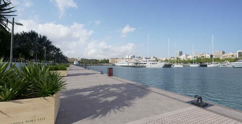 Marina Port Vell investing in superyacht slips and upgrades