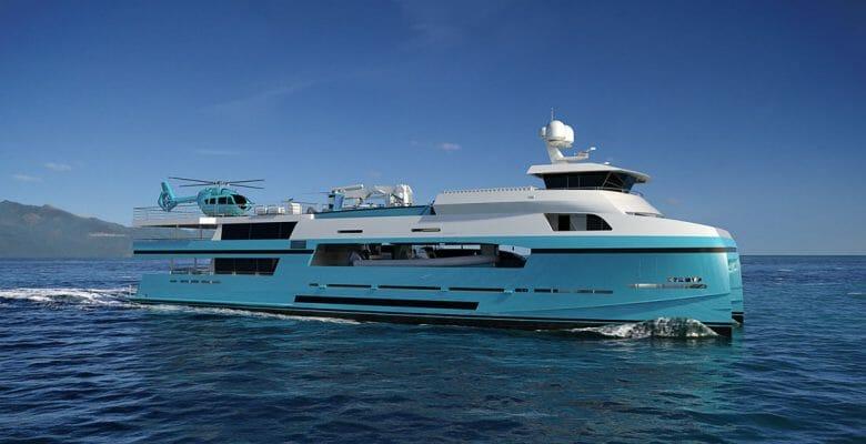 My Bro is a catamaran megayacht coming in 2023