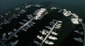 megayachts can visit Sea Isle Marina