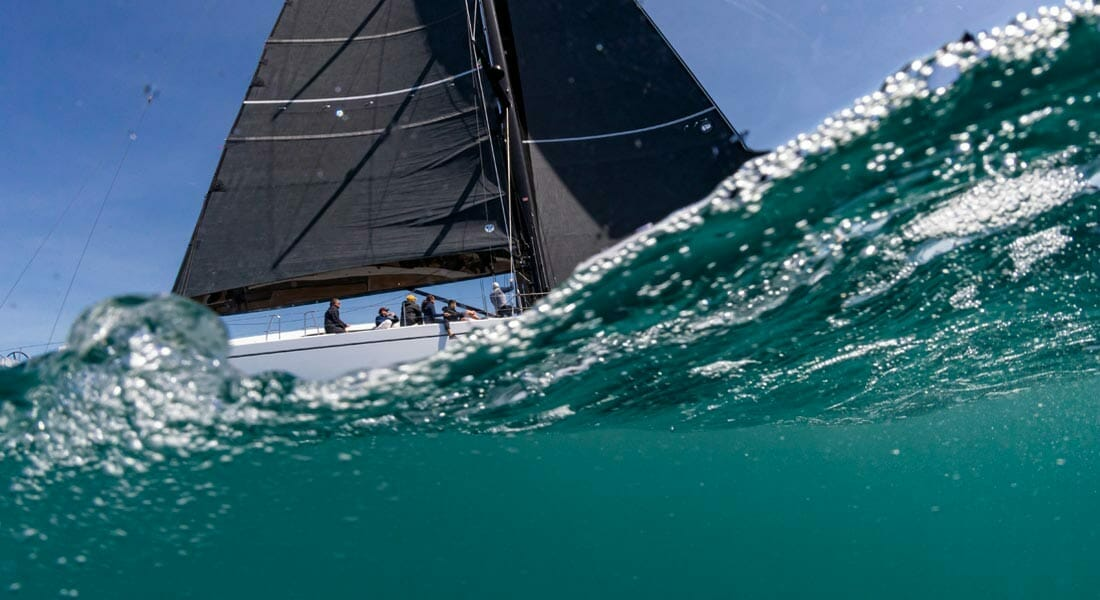 hull number two of the Swan 98 sailing superyacht series