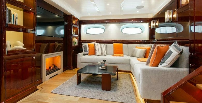 Grace III is the latest Truly Classic 128 sailing superyacht